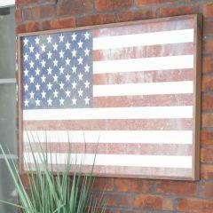 United States Flag Framed Wall Decor