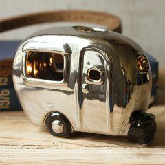 Vintage Inspired Camper Ceramic Night Light