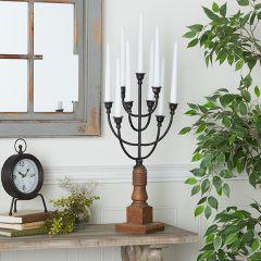 Vintage Inspired Candle Candelabra