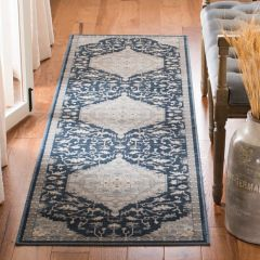 Vintage Inspired Traditional Area Rug