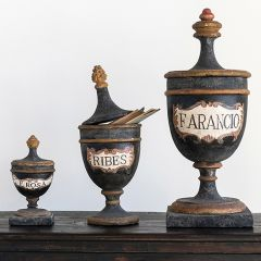 Vintage Reproduction Pharmacy Urn One of Each