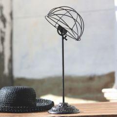 Vintage Style Hat Display Rack