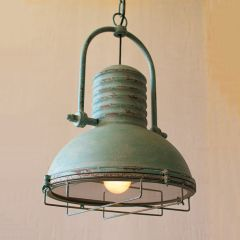 Vintage Wire Cage Pendant Light