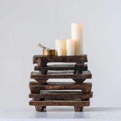 Vintage Wood Display Riser