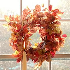 Virginia Creeper Wreath