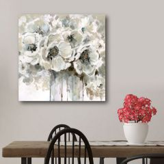 Watercolor Country Blooms Wall Art