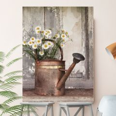 Watering Can Canvas Wall Art