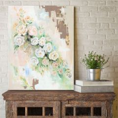 Weathered Floral Wall Art
