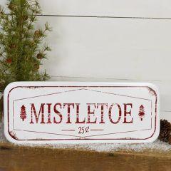 Weathered Mistletoe Sign