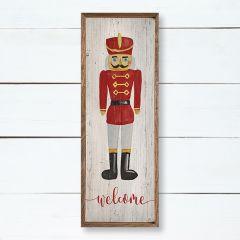 Welcome Nutcracker Wall Art