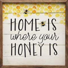 Where Your Honey Wall Art