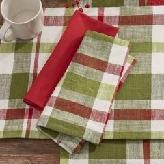 Winter Plaid Farmhouse Napkin Bundle