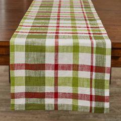 Winter Plaid Farmhouse Table Runner