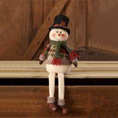 Winter Wear Snowman Shelf Sitter Set of 2