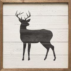 Woodland Deer Framed Wall Art